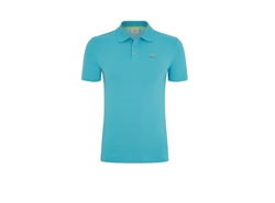 Gents Polo Shirt in Kingfisher Blue