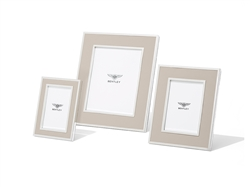 Bentley Leather Photo Frame 4x6