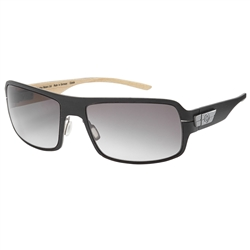 Bentley Wood Veneer Dark Tint Sunglasses