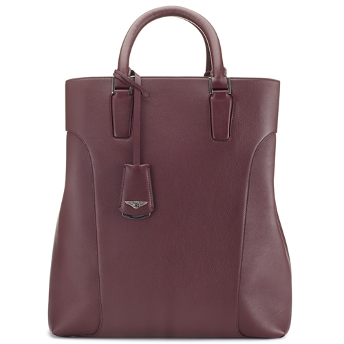 Mary P Tote Bag Rich Plum